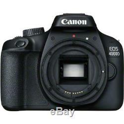 Canon Eos 4000d / Rebel T100 18mp Objectif Kit Premium Appareil Photo Numérique Slr