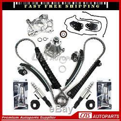 Chaîne De Distribution Kit Electrovanne Eau Pompe À Huile Pour 04-08 Ford Lincoln 5.4l 3v