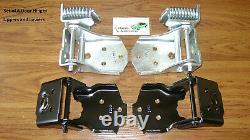 Charnières De Porte Camaro Firebird 70-81 4pc Set Kit Charnière Supérieure Et Inférieure New In Stock