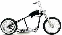 Châssis De Roulage De Châssis De Chickper Springer Hardtail Rigide Rigide Kit De Roulettes Harley $