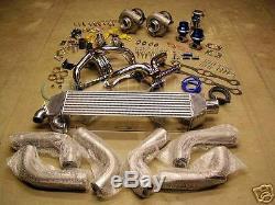 Chevy Sbc 1000 Kit Turbo Double Horsepower 1982 1992 Camaro Trans Am Gm 350 355
