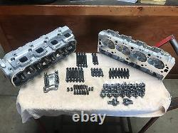 Chevy Top End Kit 396 427 454 496 502 Bbc Aluminium Heads Ovale Port 540 572