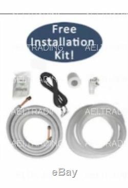 Climatiseur Sans Conduit De 12 000 Btu, Mini-split 110v 1 Pompe Avec Pompe À Chaleur Avec / Kit