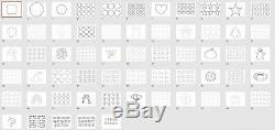 Comestibles Trousse D'imprimante Cartouches Rechargeables, L'encre Comestible, 50 Papier De La Plaquette, Des Modèles