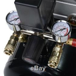 Compresseur D'air De 50 Litres Et Trousse À Outils De 5 Pièces 9.6 Pcm, 2.5 HP