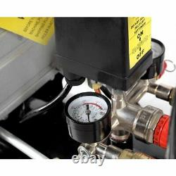 Compresseur D'air Portable De 50 Litres De Dealourus 9,6cfm 2,5hp Et 5 Pièces