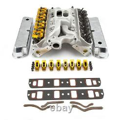 Convient Ford Sb 289 302 Hyd Ft Culasse Top End Combo Kit Moteur