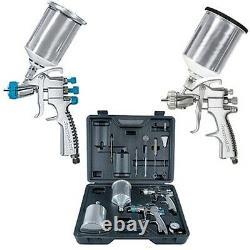 Devilbiss Startingline Hvlp Gravity Feed Auto Paint, Premierr Spray Gun Kit 802343