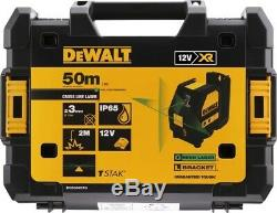 Dewalt Dce088d1g 12v Autolissant Cross Ligne Kit Laser Vert 1 X 2.0ah Batterie