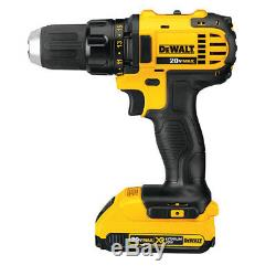 Dewalt Dck720d2 20 Volts 2.0ah 7-outils Sans Fil Lithium-ion Max Combo Kit