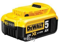Dewalt Dckffx9ap4 Kit T-stak Li-ion 9pc 18v 4x5.0ah Xr