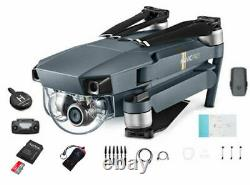 Dji Mavic Pro Drone Super Combo Kit Avec Caméra Hd 4k