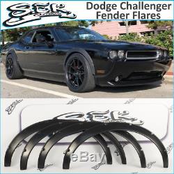 Dodge Challenger Srt (08-16) Jeu D'éclairages De Garde-boue, Kit Corps Larges, Plastique Abs