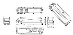 Downtube 48v 12.5ah Hailong Cadre Ebike Lithium Kit De Batterie Pour Moteur 1000w