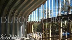 Durospan Steel 25'x35'x13' Metal Building Kit Home Shop Open Ends Factory Direct