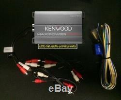 Eletronics De Vélo De Kit D'amplificateur De Puissance Stéréo De Moto De Harley 4ch 400 Watts