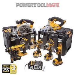Ensemble D'outils Électriques Dewalt Dck699m3t 6 Pièces + 3 Piles 4ah