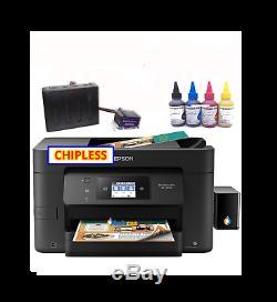 Epson Wf-3720 Imprimante Sublimation Bundle Avec Ciss Kit, Encre Sublimation