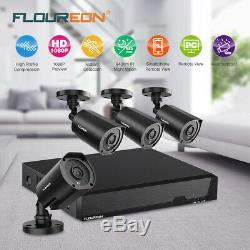Floureon 8ch 1080n 5in1 Ahd Dvr 3000tvl Kits De Système De Sécurité Extérieurs Pour Caméra De Vidéosurveillance