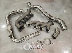 Full Hotparts Turbo T4 Kit Vortec V8 Ls 4.8 5.3 6.0 6.2 Pour Silverado Sierra Lsx