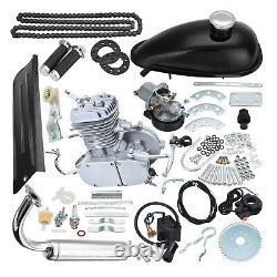 Full Set Bike Motor 2-stroke 80cc Essence Essence Motorized Bicycle Engine Kit Cyclin