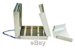 G6 50 Boîte De Sluice En Aluminium Pliable Et Kit De Casserole D'or
