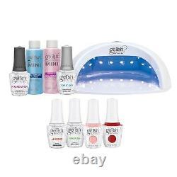 Geliish Pro Kit Salon Professional Gel Lampe Led Soak Off Nail Polish Set, 15 ML
