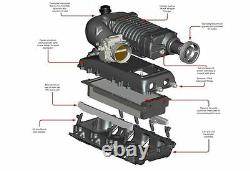 Gm Truck 07-13 Whipple W140ax Chargeur Superchargeur Intercooler Tuner Kit Système