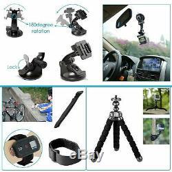 Gopro 7 Caméra Black Action 4k Plus Kit Mega Deluxe Bundle Accessoires