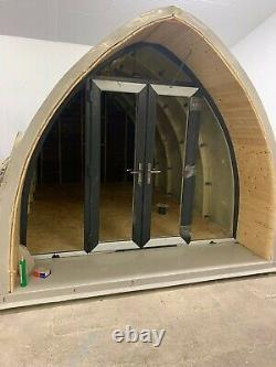 Grp / Composite Glamping, Pod Shell, Bureau De Jardin, Kit Auto De Construction (3m X 5m)