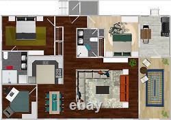 Highknob Clerestory 30x40 Kit Shell Personnalisable Maison, Livré Prêt À Construire