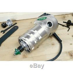 Hitachi Km12vc 11 Amp 2-1 / 4 HP Plongeante Et Fixe La Base Vari Speed router Kit- Nouveau