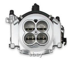 Holley 550-510 Sniper Efi Fuel Injection Conversion Kit S'adapte À Tous Les V8 Poli