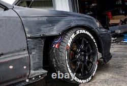 Honda CIVIC Type R Ek Ej Fenders Cut Out Panneaux 96-00 Body Kit Tuning Jdm Style