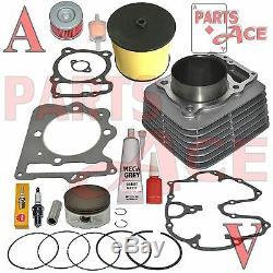 Honda Trx 400ex Trx400ex Cyinder Joint De Piston Anneaux Top End Kit Set 1999-2008