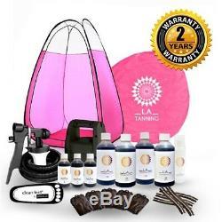 Hvlp Ts20 Autobronzant De Kit, Machine, Tente Rose Spray Tan & More! Devrait Être 289 £