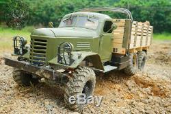 Kingkong Rc 1/12 Échelle Ca30 / Zisl-151 6x6 Camion Soviétique Châssis En Métal Kit Set