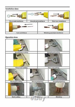 Kit D'extracteur De Dent Pour Soudeur De Goujon De Spot Pour Panneau De Carrosserie De Voiture 220 V. 230,00 € + Tva