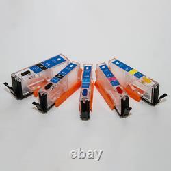 Kit D'imprimante Comestible Ts5051 Encre Comestible + Cartouches Rechargeables + 50 Papier Gaufrettes