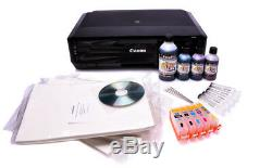 Kit D'imprimante Compatible Cartouches Rechargeables, Encre Comestible