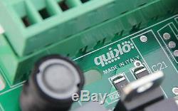 Kit D'ouvre-portail Électrique À Distance Quiko Neo Dual Rams 2 Télécommandes
