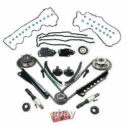 Kit De Chaîne De Synchronisation+cam Phasers+valves Vvt Pour 5.4l Triton 3v Ford F150 Lincoln