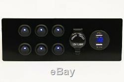 Kit De Conversion De Câblage Électrique Complet Camper Van Électrique 12v Et 240v + Inverseur 1000w