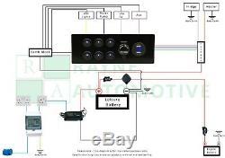 Kit De Conversion De Câblage Électrique Complet Pour Camping-car / Fourgonnette Électrique 12v Et 240v