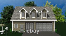 Kit De Garage Shell Prefab Garage Kit Avec Living Quarters Garage Home Kit