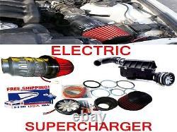 Kit De Moteur De Rechargeur D'admission D'air Électrique Performant Pour Toyota
