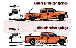 Kit De Sac De Niveau De Charge Aérienne De Remorquage S'adapte 2011-2017 Chevy 8 Lug Truck Bolt À L'arrière