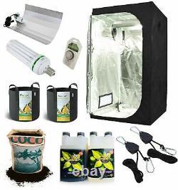 Kit De Tente Complète Grow Light Indoor Hydroponics Installation Système Petit 60