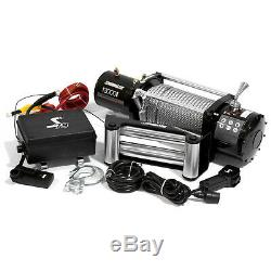 Kit De Treuil Électrique 4wd Speedmaster 13000lbs / 5900kgs 12v Avec Télécommande Sans Fil