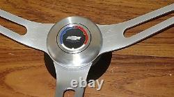 Kit De Volant Comfort Grip Coussin Noir Camaro Chevelle Nova Elcam 3-prises